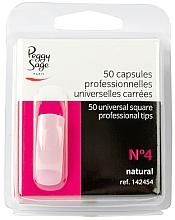 """Parfüm, Parfüméria, kozmetikum Univerzális műköröm tip """"№4"""", 50 db - Peggy Sage Tips"""