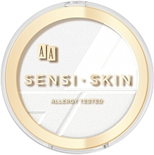 Parfüm, Parfüméria, kozmetikum Arcpúder - Aa Sensi Skin Puder Prasowany Owsiany Fixing