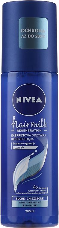 """Helyreállító kondicionáló normál hajtípusra """"7 Plus"""" - Nivea Hairmilk Conditioner"""