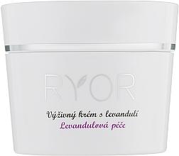 Parfüm, Parfüméria, kozmetikum Tápláló krém levendulával - Ryor Lavender Nourishing Face Cream