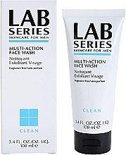 Parfüm, Parfüméria, kozmetikum Tisztító habzó gél - Lab Series Multi-Action Face Wash Nettoyant Exfoliant Visage