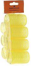 """Parfüm, Parfüméria, kozmetikum Tépőzáras hajcsavaró """"Velcro"""" 35mm, 7 db, 0355 - Top Choice"""