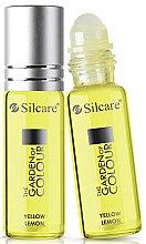 Parfüm, Parfüméria, kozmetikum Köröm- és körömágybőr olaj - Silcare The Garden of Colour Cuticle Oil Roll On Lemon Yellow