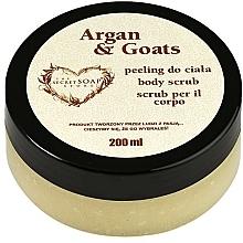 """Parfüm, Parfüméria, kozmetikum Bőrradír """"Argán- és kecsketej"""" - The Secret Soap Store Argan & Goats Body Scrub"""