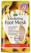 Parfüm, Parfüméria, kozmetikum Lábpeeling - Purederm Exfoliating Foot Mask