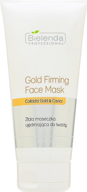 Fiatalító arany arcmaszk - Bielenda Professional Program Face Gold Firming Face Mask
