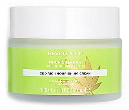 Parfüm, Parfüméria, kozmetikum Hidratáló arckrém - Revolution Skincare CBD Nourish Boost Cream
