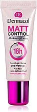 Parfüm, Parfüméria, kozmetikum Mattító primer - Dermacol Matt Control MakeUp Base 18h