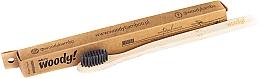 "Parfüm, Parfüméria, kozmetikum Bambusz fogkefe ""Colour"" fekete - WoodyBamboo Bamboo Toothbrush Natural"