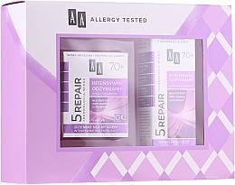Parfüm, Parfüméria, kozmetikum Szett - AA Cosmetics Age Technology 5 Repair 70+ (f/cr/50ml + eye/cr/15ml)