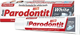 Parfüm, Parfüméria, kozmetikum Fehérítő fogkrém - Dental Anti-Parodontit White
