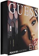 Parfüm, Parfüméria, kozmetikum Szett - Guess Beauty Peach 101 Eye Lookbook (mascara/4ml + eyeliner/0.5g + 12xeye/sh/1.96g)