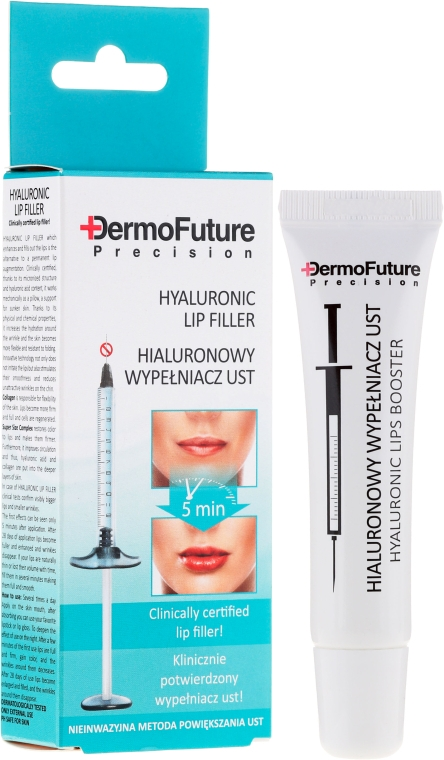 Hialuronsavas ajakfeltöltő - DermoFuture Precision Hyaluronic Lip