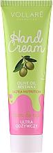 Parfüm, Parfüméria, kozmetikum Tápláló kézkrém - Vollare Cosmetics De Luxe Hand Cream Ultra Nutrition
