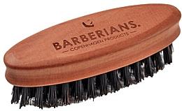 Parfüm, Parfüméria, kozmetikum Szakállkefe, ovális - Barberians. Beard Brush Oval