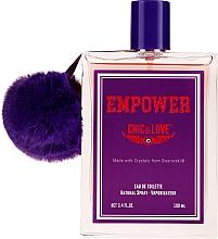 Parfüm, Parfüméria, kozmetikum Chic&Love Empower - Eau De Toilette (teszter kupakkal)