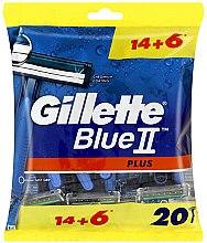 Parfüm, Parfüméria, kozmetikum Eldobható borotva készlet, 14+6 db. - Gillette Blue II