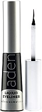 Parfüm, Parfüméria, kozmetikum Vízálló szemhéjtus - Aden Cosmetics Liquid Eyeliner