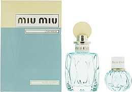 Parfüm, Parfüméria, kozmetikum Miu Miu L'Eau Bleue - Szett (edp/100ml + edp/20ml)