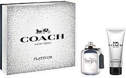 Parfüm, Parfüméria, kozmetikum Coach Platinum - Szett (edp/60ml + sh/gel/100ml)