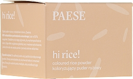Parfüm, Parfüméria, kozmetikum Tonizáló rizspúder - Paese Hi Rice Coloured Rice Powder