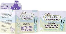 Parfüm, Parfüméria, kozmetikum Gyerek törlőkendő íny és fogtisztításra - Jack N' Jill