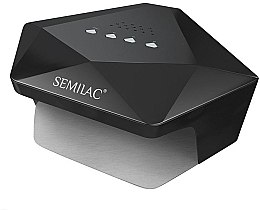 Parfüm, Parfüméria, kozmetikum Professzionális UV/LED-lámpa, fekete - Semilac Diamant 36W