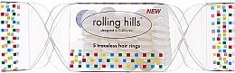 Parfüm, Parfüméria, kozmetikum Hajgumi, átlátszó - Rolling Hills 5 Traceless Hair Rings Cracker