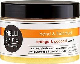Parfüm, Parfüméria, kozmetikum Testradír - Melli Care Orange&Coconut Scrub
