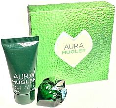 Parfüm, Parfüméria, kozmetikum Thierry Mugler Aura Mugler - Szett (edp/5ml + b/lot/30ml)