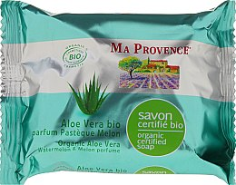 Parfüm, Parfüméria, kozmetikum Bio organikus szappan aloe vera és dinnye illattal - Ma Provence Organic Soap