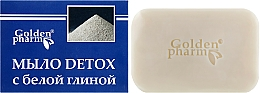 Parfüm, Parfüméria, kozmetikum Szappan fehér agyaggal - Golden-pharm