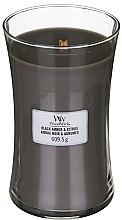 Parfüm, Parfüméria, kozmetikum Aroma gyertya - WoodWick Hourglass Candle Black Amber And Citrus