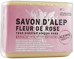 "Parfüm, Parfüméria, kozmetikum Alepi szappan ""Rózsa"" - Tade Aleppo Rose Flower Scented Soap"