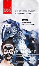 """Parfüm, Parfüméria, kozmetikum Arcmaszk """"Mosakodógél + bőrradír"""" - Czyste Piekno Peel Off Mask"""