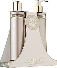 Parfüm, Parfüméria, kozmetikum Készlet - Vivian Gray Brown Crystals Set (sh/gel/250ml + b/lot/250ml)
