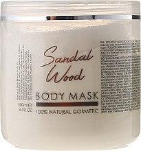 """Parfüm, Parfüméria, kozmetikum Test- és arcmaszk """"Szantálfa"""" - Sezmar Collection Professional Body Mask Sandal Wood"""