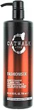 Parfüm, Parfüméria, kozmetikum Sampon barna árnyalatra - Tigi Catwalk Fashionista Brunette Shampoo (pumpával)