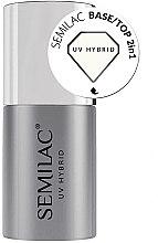 Parfüm, Parfüméria, kozmetikum Alap-fedőlakk 2 az 1 gél-lakkhoz - Semilac Base/Top 2in1
