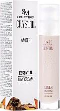 Parfüm, Parfüméria, kozmetikum Természetes borostyán nappali krém - SM Collection Crystal Amber Day Cream