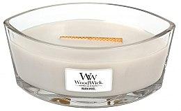 Parfüm, Parfüméria, kozmetikum Illatgyertya pohárban - WoodWick Hearthwick Flame Ellipse Candle Warm Wool