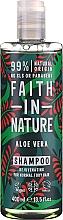 """Parfüm, Parfüméria, kozmetikum Sampon normál és száraz hajra """"Aloe vera"""" - Faith In Nature Aloe Vera Shampoo"""
