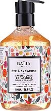 Parfüm, Parfüméria, kozmetikum Marseille folyékony szappan - Baija Ete A Syracuse Marseille Liquid Soap