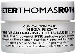 Parfüm, Parfüméria, kozmetikum Anti age szemkrém - Peter Thomas Roth Mega-Rich Intensive Anti-Aging Cellular Eye Cream
