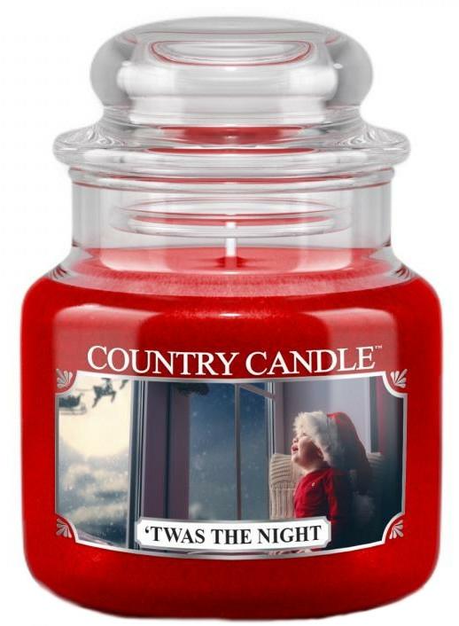 Illatgyertya üvegben - Country Candle Twas The Night — fotó N1