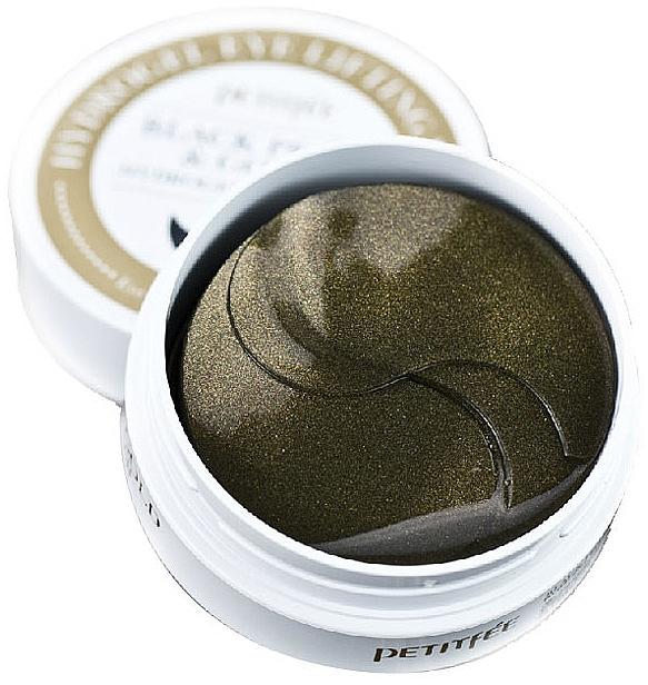 Fekete gyöngy és arany hidrogél szemtapasz - Petitfee & Koelf Black Pearl&Gold Hydrogel Eye Patch