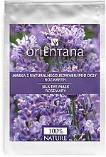 """Parfüm, Parfüméria, kozmetikum Szemkörnyékápoló maszk """"Rozmaring"""" - Orientana Eye Silk Pad Rosemary"""