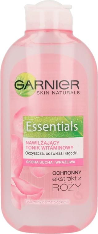 Nyugtató tonik száraz és érzékeny bőrre - Garnier Skin Naturals Arcápoló Lotion — fotó N1