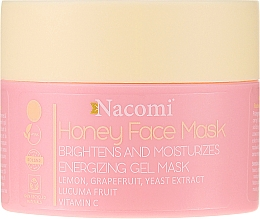 Parfüm, Parfüméria, kozmetikum Mézes gél-maszk arcra - Nacomi Honey Face Gel-Mask