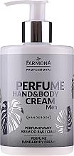 Parfüm, Parfüméria, kozmetikum Illatosított kéz- és testkrém - Farmona Professional Perfume Hand&Body Cream Men